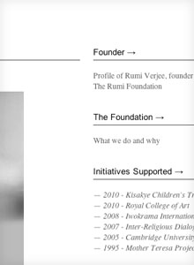 The Rumi Foundation